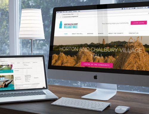 Horton and Chalbury Village Hall  Brand & Website